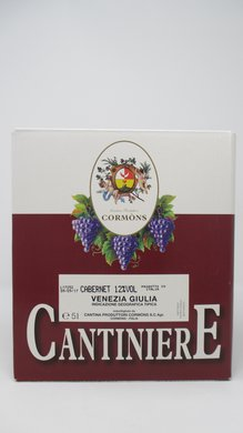 Cabernet Bag in Box Cantina Cormons 5 litri